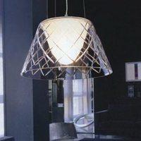 Современная Простота итальянский стиль лист стеклянный подвесной светильник один ресторан огни специальные Открытый Подвесные Светильни