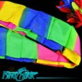 Rainbow Long Silk 5 Meters Free Shipping King Magic Tricks Props Toys Email Video To You