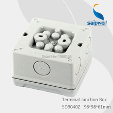 SD9040Z *IP65* Surface Mounted Plastic Terminal Junction Box ( Inserted Type Pipe Connection )