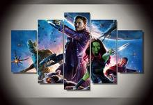 Framed Printed guardians of the galaxy Painting wall art children's room decor print poster picture canvas Free shipping/wo-583