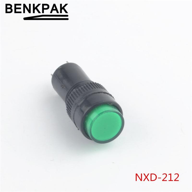 Individual LEDS 10PCS Blue 22mm 110V LED Indicator Power Signal ...