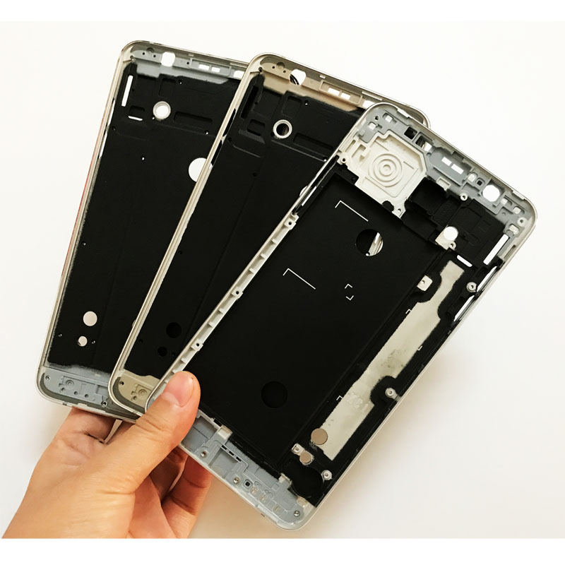 5 Pcs/Lot ,New Front Frame Bezel LCD Panel For Samsung Galaxy J5 J7 2016 J510 J710 Housing Middle Plate Faceplace Replacement