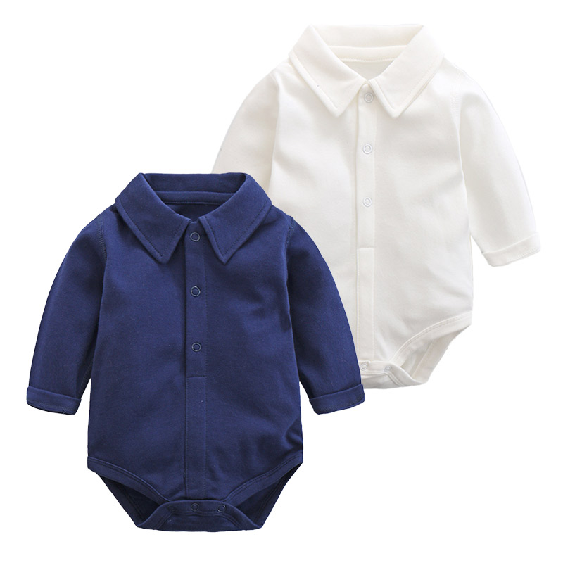Handsome Baby Rompers Infant Newborn  Bow Romper Costume Cotton Tie Jumpsuit Clothes Gentleman Body Suit Baby Boys Clothing