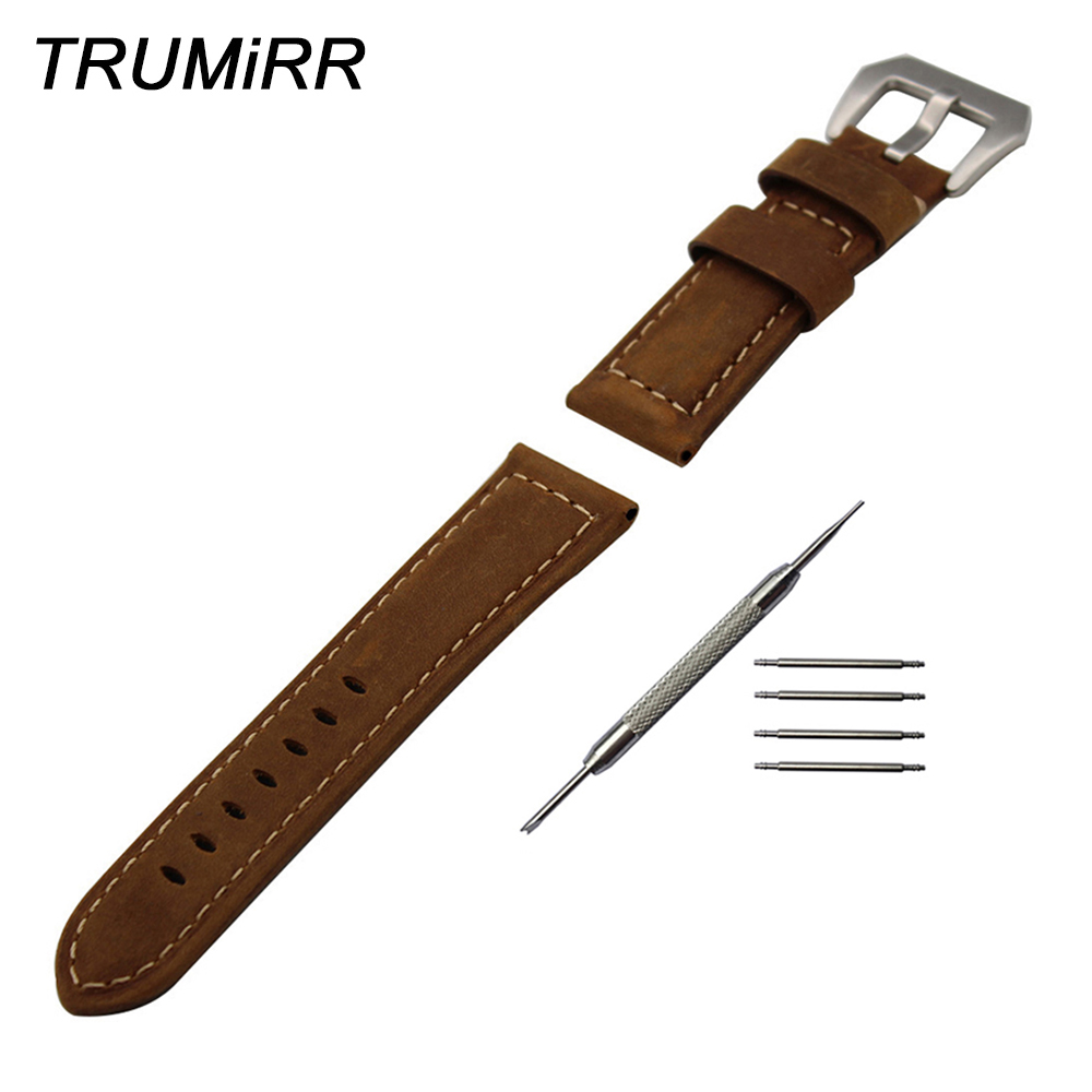 Italian Calf Genuine Leather Watchband 20mm 24mm 26mm for Diesel Watch