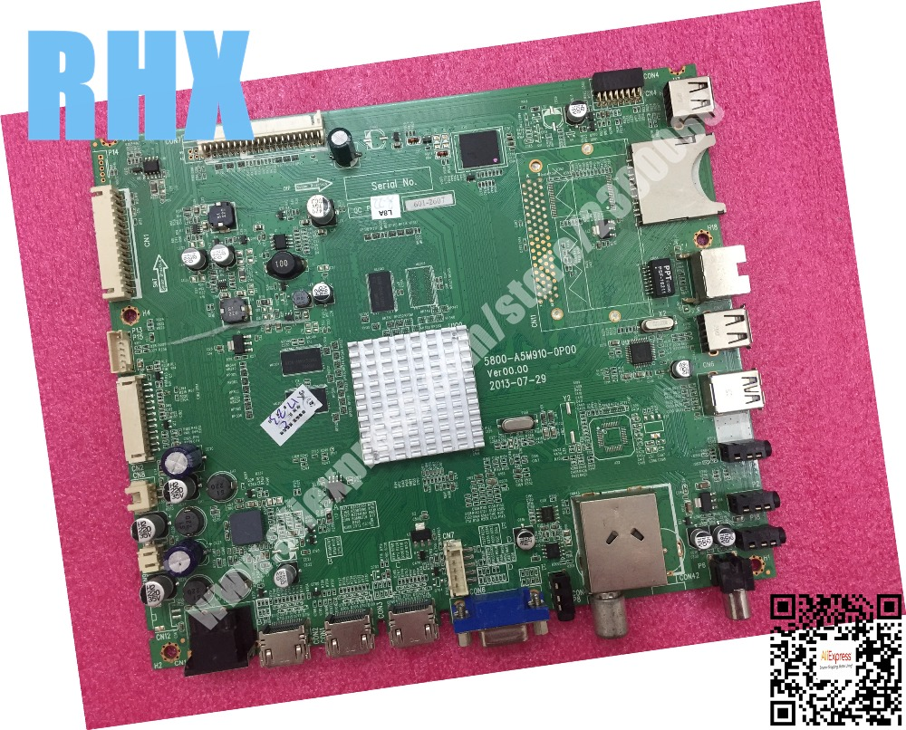 FOR Skyworth LCD flat-panel televisions original driver board 5800-A5M910-0P10 replace 5800-A5M910-0P00 is new lq065t5gg61 6 5 lcd panel new and original