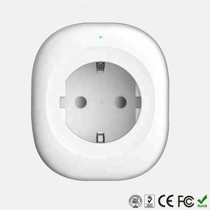 Image 2 - Cargador inteligente WIFI Enchufe europeo 220 V 16A Control remoto control de voz interruptor de sincronización inteligente para Amazon Alexa/ asistente de Google