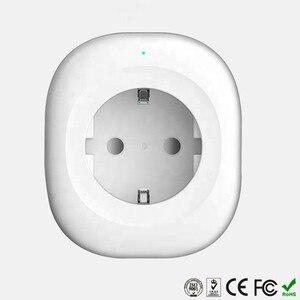 Image 2 - WIFI スマート充電器 EU プラグ 220 V 16A リモコン音声制御スマートタイミングスイッチ作業 Amazon の Alexa/ google アシスタント