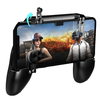 Portable Gamepad Mobile Controller with EV Footpad for iOS Android Smartphone