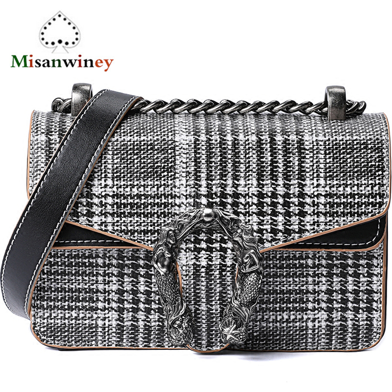 Fashion Chain Women Casual Shoulder Bag Genuine Leather Messenger Bags Retro Female Big Cowskin Handbag Ladies Flap GG Louis Bag цена 2017