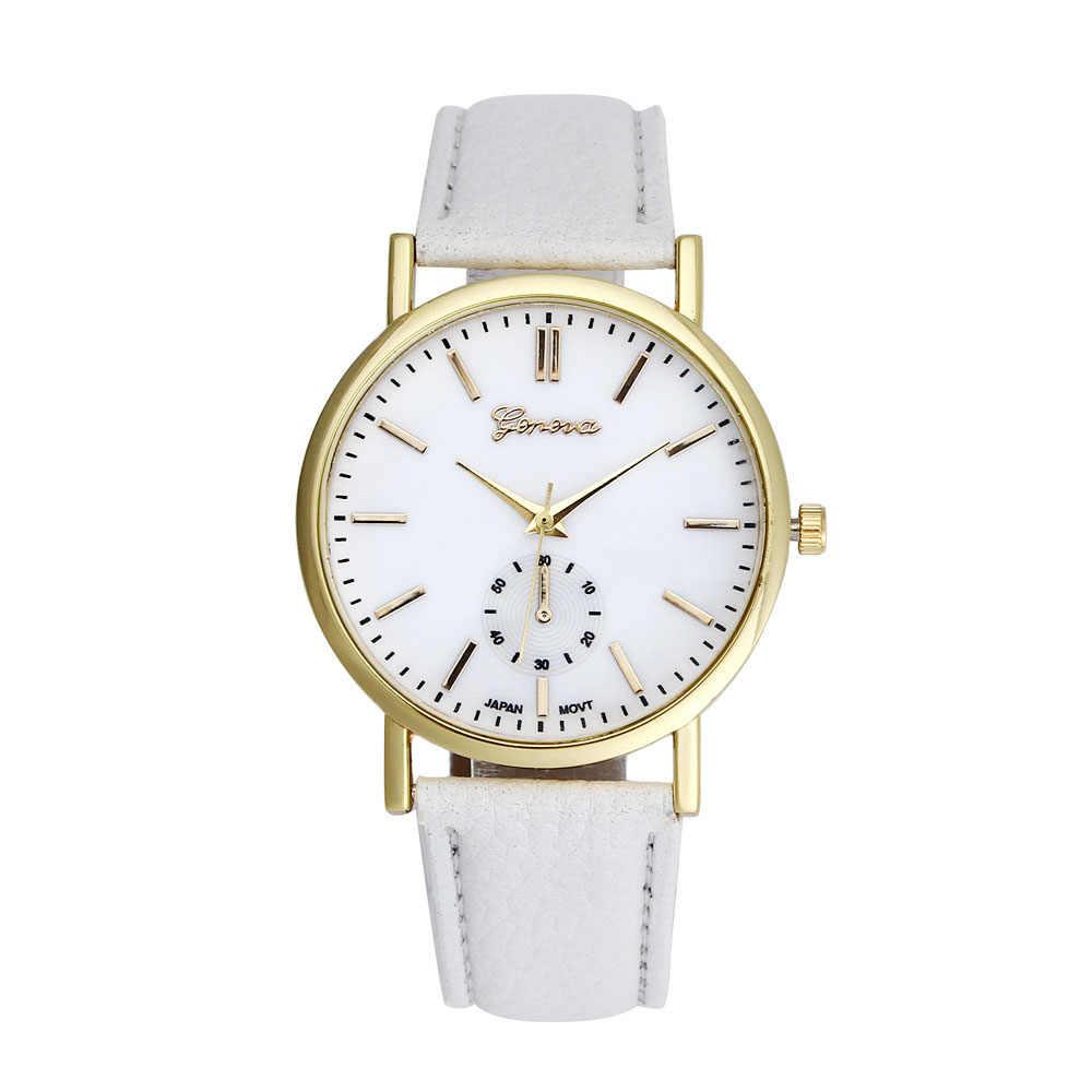 Горячая Мода 2017 женское платье наручные часы кварцевые часы женские Дешевые подарок для девочек Популярные Relojes Masculino качество часы 7 цветов