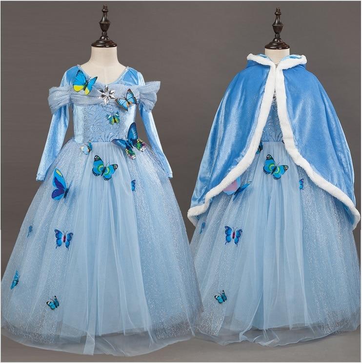 L1904 Christmas children 's clothing Cinderella princess dress girls birthday wedding dresses johanna s christmas