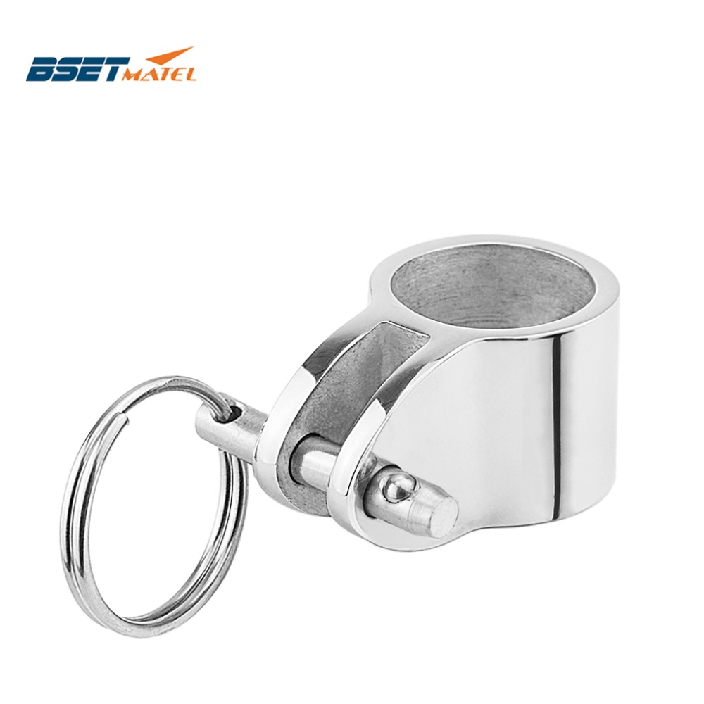 Stainless Steel 1/'/' Jaw Slide Fitting for Bimini Top 4pcs-Marine Grade
