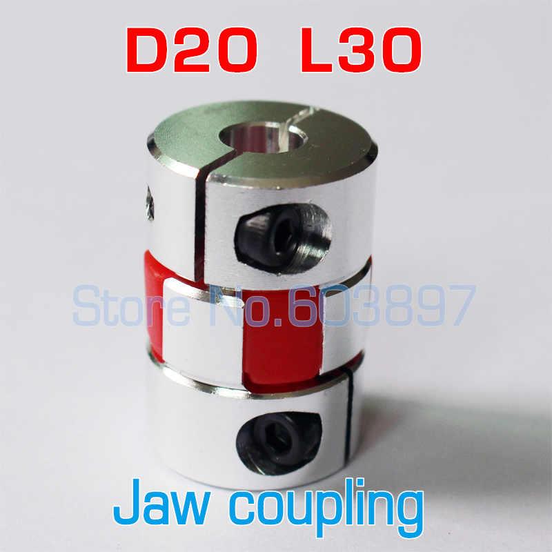 Inner Diameter: 3x4 Ochoos XB Couplings Aluminium Plum Flexible Shaft Coupling D20 L25 Motor Connector Flexible 5 6 6.35 8 10 mm