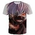 Classic Tokyo Ghoul Anime t shirts Vintage Art Painting Kaneki Print tshirts Harajuku tee shirts Men Women Hipster 3D t shirt
