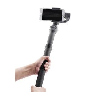 Image 2 - Pręt z włókna węglowego słup dla Dji OM 4 Osmo Mobile 2 3 ronin s Feiyu G5 G6 P gładki 4 Zhiyun żuraw kardana ręczna przedłużenie paska