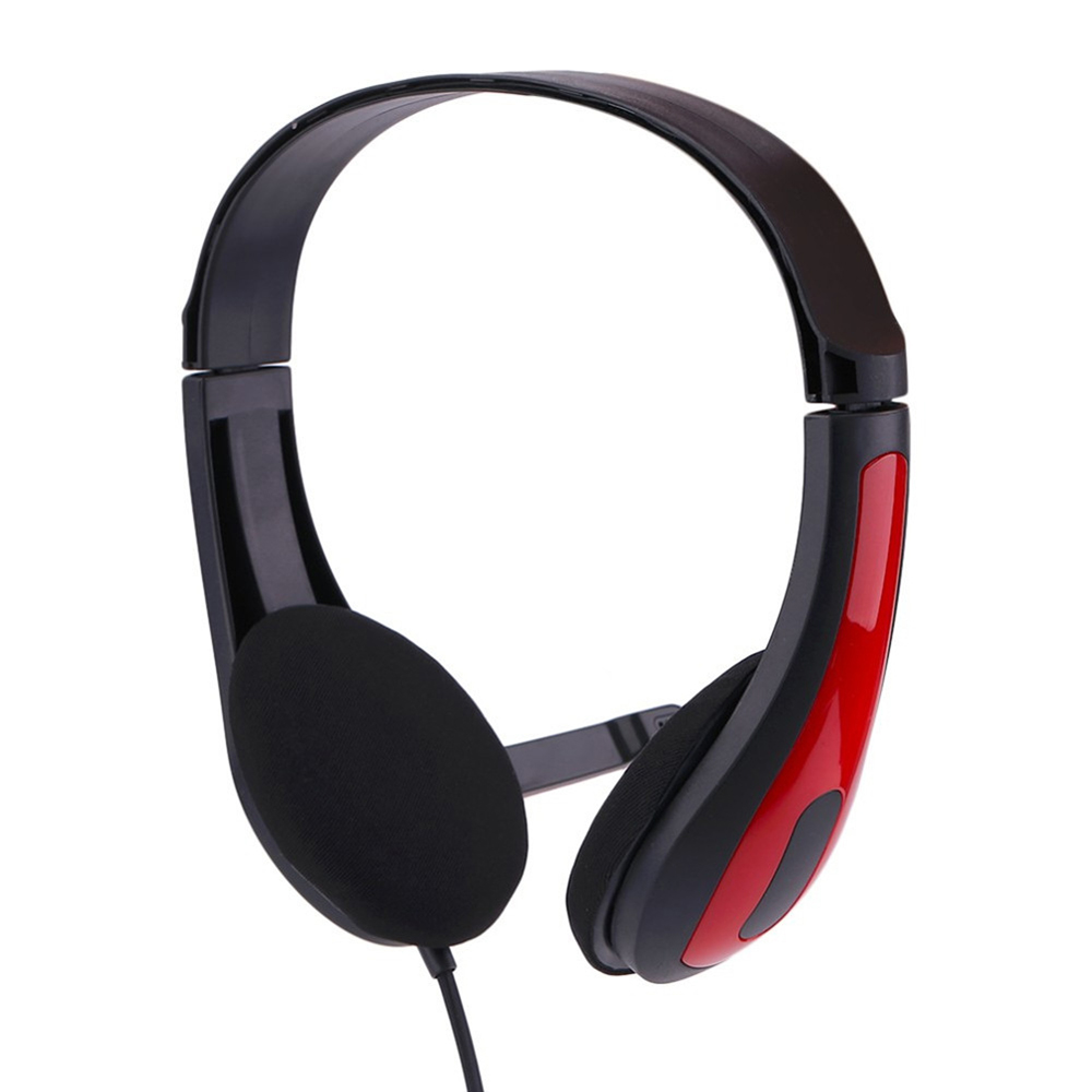 Stereo 3.5mm Wired Headphone Playing Gaming Voice Call With Microphone Adjustable Headsets Audifonos for Computer Laptop PC Game