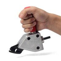 Metal Cutting Sheet Cutting Tool Nibbler Sheet Metal Cutter Cutter Tool Drill Attachment Power Tool Accessories