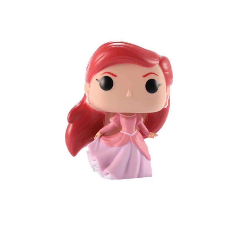 Funko POP Disney Kartun Putri Boneka Putri Duyung Kecil Ariel Vinyl Action Figure Collectible Model Mainan untuk Anak-anak Hadiah