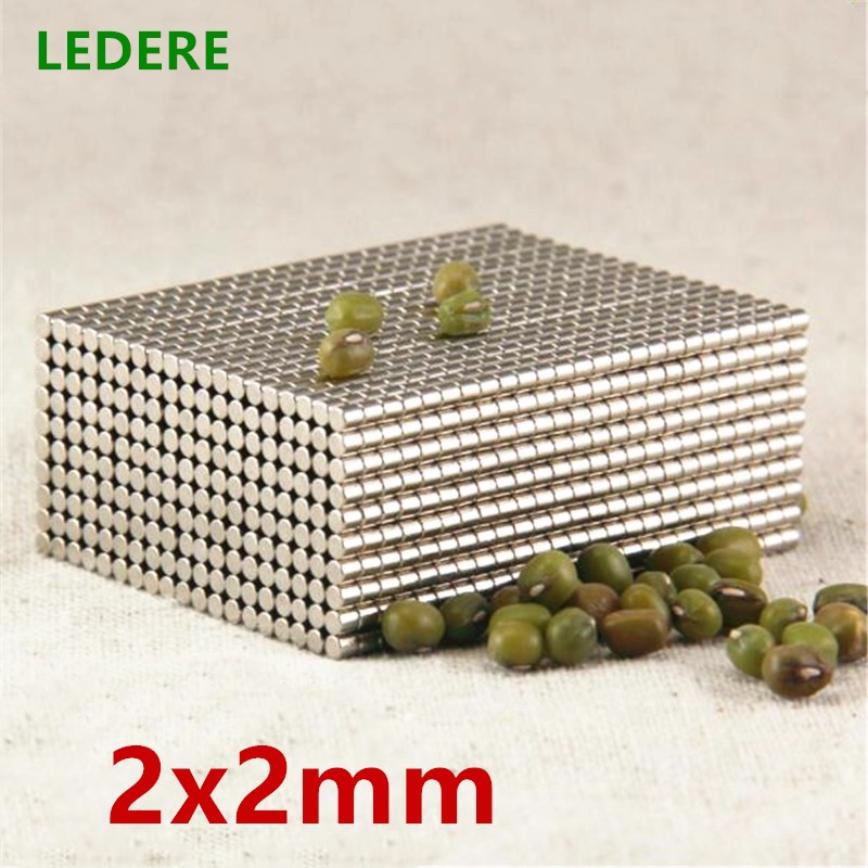 1000pcs 2000pcs N42 2mm x 2 mm Strong Round Magnets Dia 2x2 Neodymium Magnet Rare Earth Magnet 2*2 2x2mm 1000pcs dia 5mmx2mm 5x2 d5 2 d5 2mm 5x2mm 5 2 neodymium ndfeb rare earth permanent cylinder magnet for diy