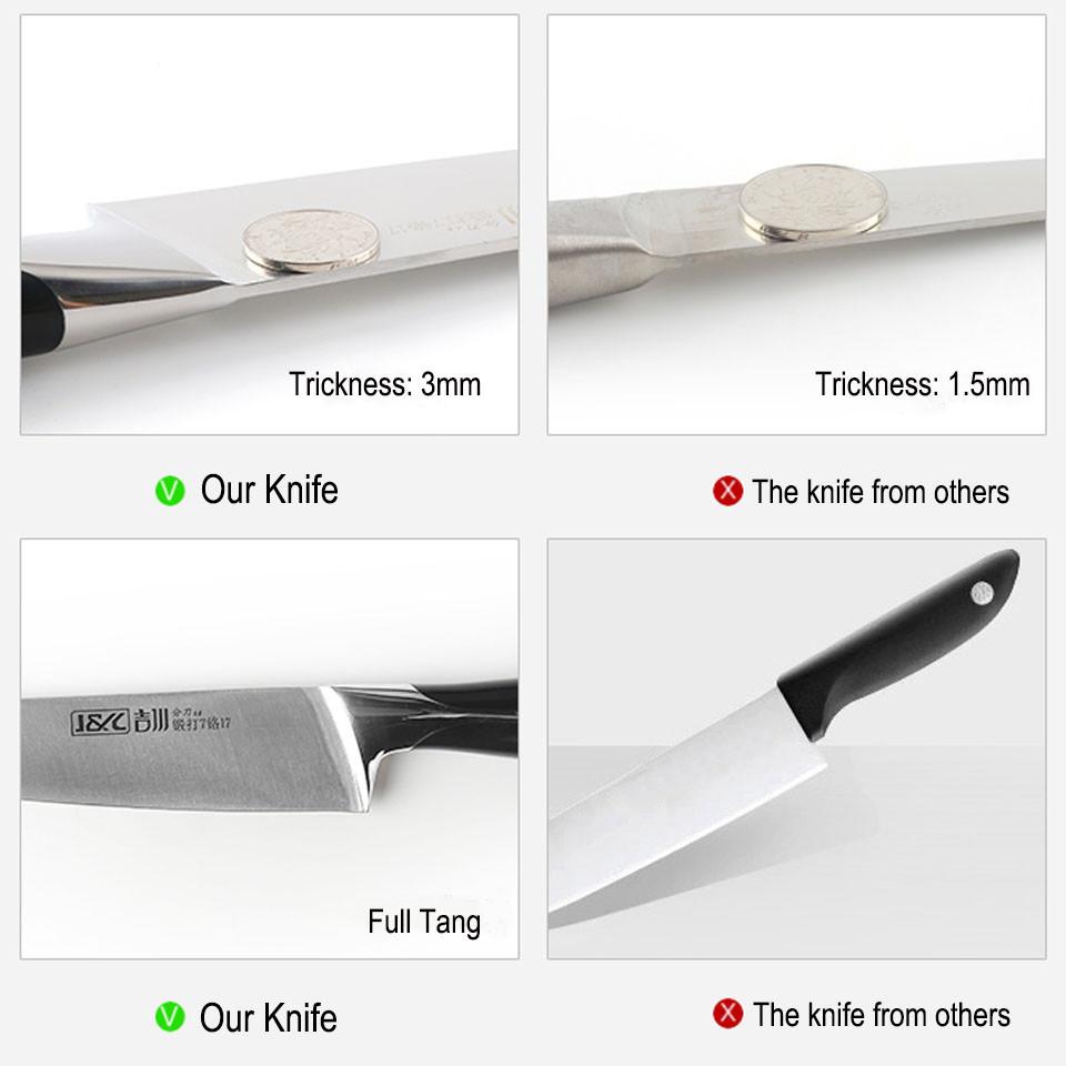 high quality 3mm knife