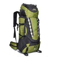 80L Кемпинг Открытый походный рюкзак большой емкости альпинистская сумка водостойкая нейлоновая спортивная сумка рюкзак путешествия
