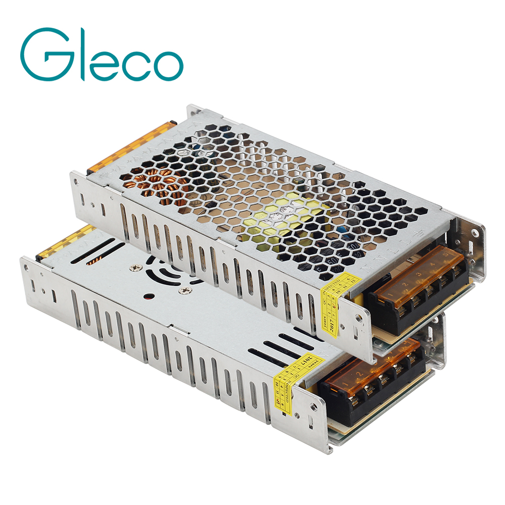 Ultra dünne DC5V Netzteil 200 W 300 W Beleuchtung Transformator AC190-240V eingang für 5 V LED Streifen Licht LED fahrer