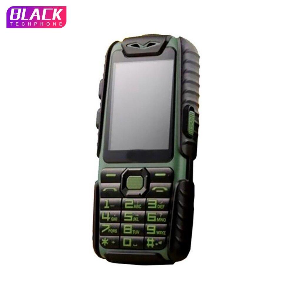 Guophone A6 9800 mAh teléfono móvil Banco de la energía del diario impermeable 2,4