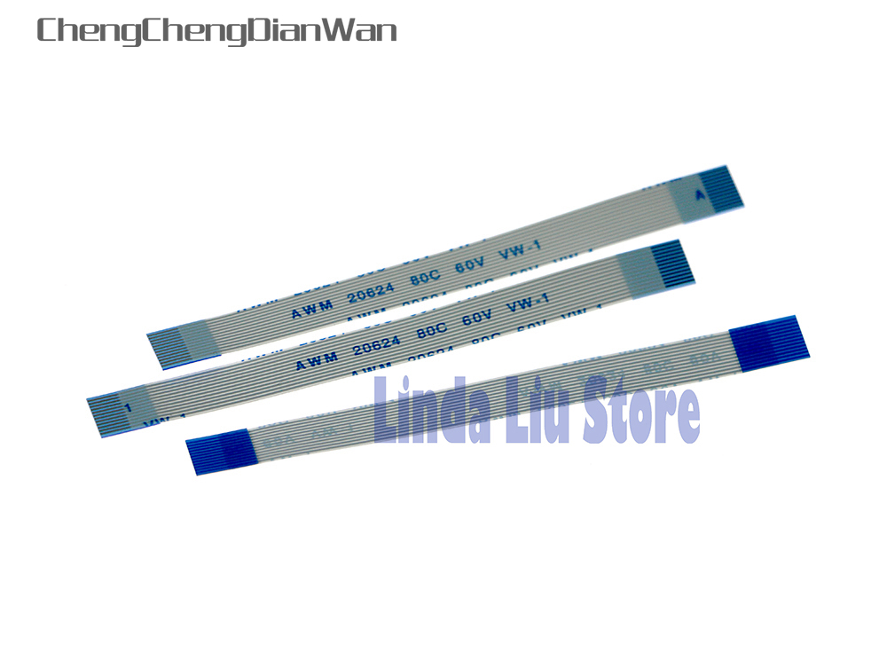 ChengChengDianWan 30pcs/lot 12pin Power On Off Reset Switch Flex Ribbon Cable for <font><b>PS2</b></font> <font><b>50000</b></font> image