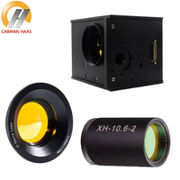 Лазерный CO2 20 мм Цифровой Galvo голову комплект + сканирования объектив 300x300 мм + DC 24 Питание Co2 расширитель пучка 2X
