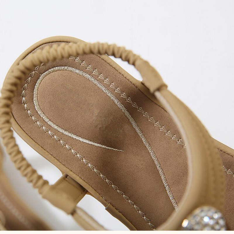 HTB1RrstmMfH8KJjy1zcq6ATzpXaF TIMETANG Summer New Bohemia Wedge Women Sandals Rhinestone Woman Flip Flops Vintage Women Shoes Beach