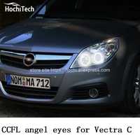 HochiTech Ccfl Angel Eyes Kit White 6000k Ccfl Halo Rings Headlight For Opel Vectra C Caravan