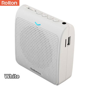 Image 4 - Rolton K100 Portable Loud Speaker Mini Voice Amplifier Microphone With USB TF Card FM Radio For Teacher Tour Guide Promotion