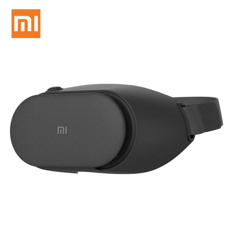 Original Xiaomi VR Play 2 lunettes de réalité virtuelle lunettes 3D immersives pour 4.7-5.7 pouces 1080 P Smart Phones outil de contrôle intelligent