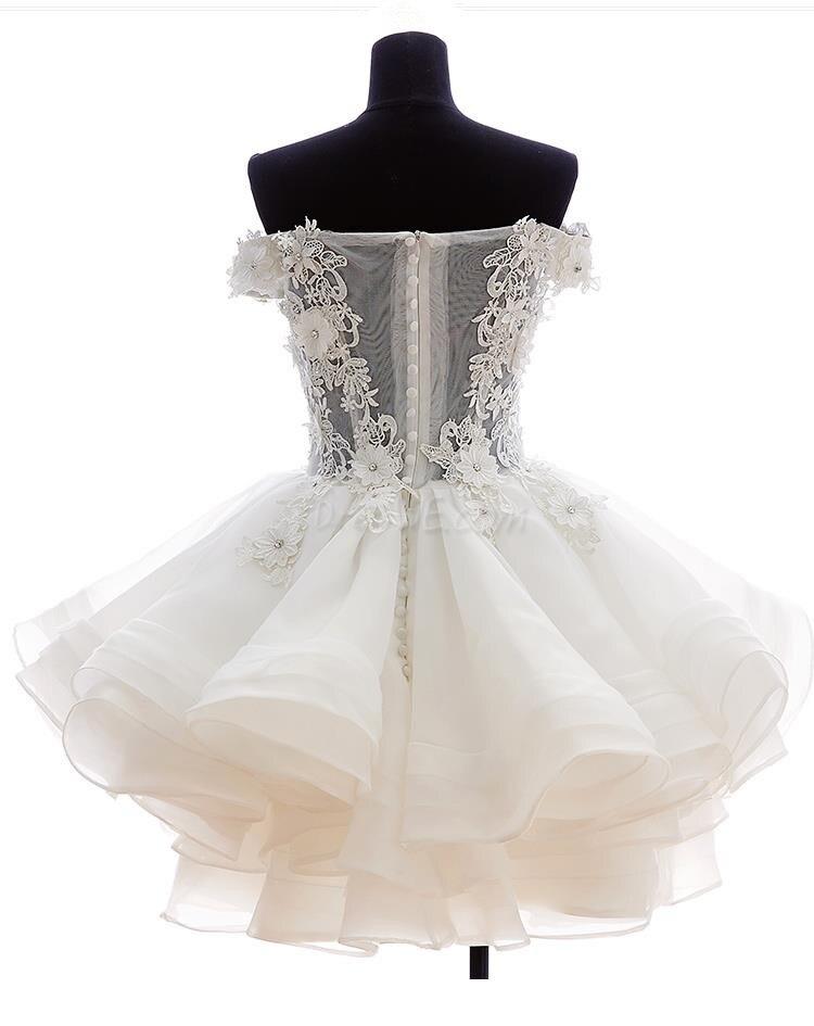 807acb309c4 Encaje Vestido de Noche Corto 2016 Vestidos de Noche Robe de soirée traje  de gala vestido de festa vestidos de noche vestidos en Vestidos de noche de  Bodas ...