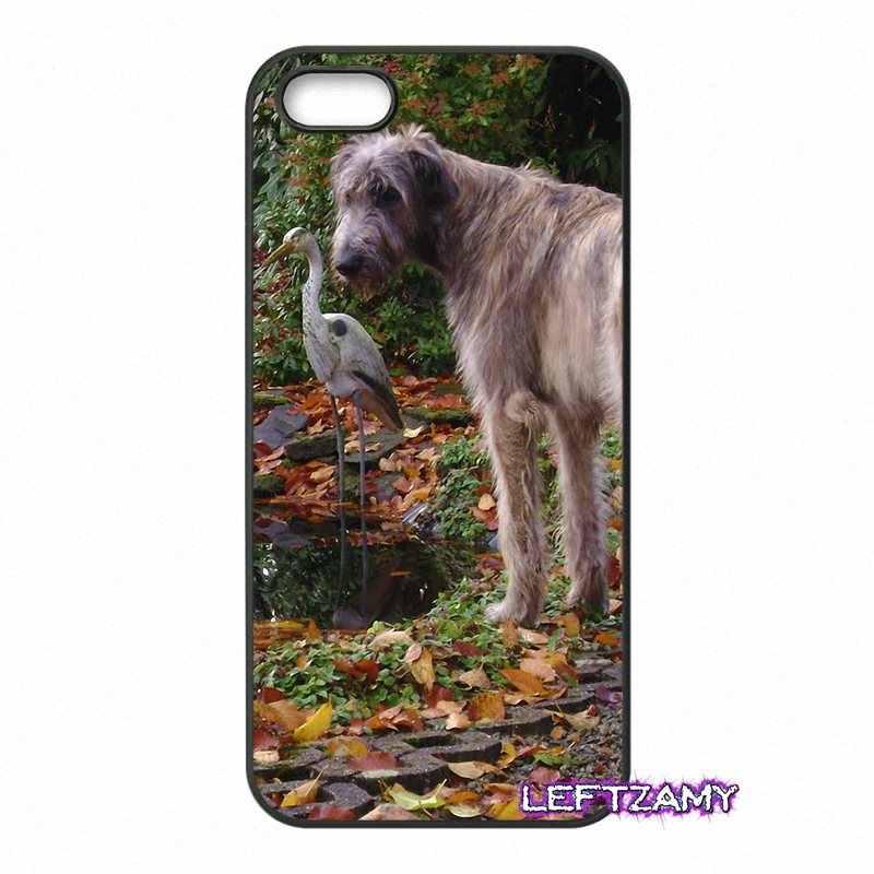 Eu amo o meu wolfhound irlandês italiano capa dura do telefone para sony xperia x xa xz m2 m4 m5 c3 c4 c5 t3 e4 e5 z z1 z2 z3 z5 compacto
