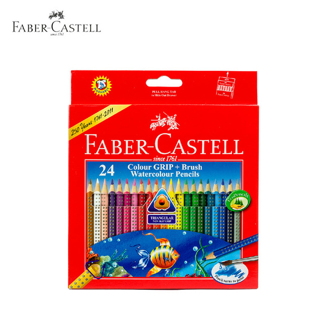 Faber Castell Colored Pencils lapis de cor Lapices Colores 12 ...