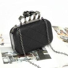 Кольцо Hasp дневные клатчи Мини кошелек сумка для телефона Женская Личи шаблон черная искусственная кожа вечерняя сумка для девочек цепь сумка на плечо