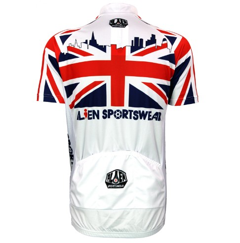 2016 new men s UK Lions flag cycling jersey cool summer short sleeve bike  clothing bicycle apparel quick dry gear cycle garments-in Cycling Jerseys  from ... c657e6778