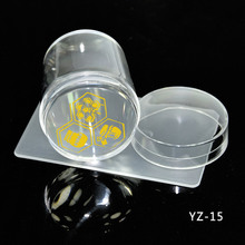 Hot NEW 1Pc Large 4cm Nail Art Clear Jelly Stamper Marshmallow High Quality Stamping Scraper Set