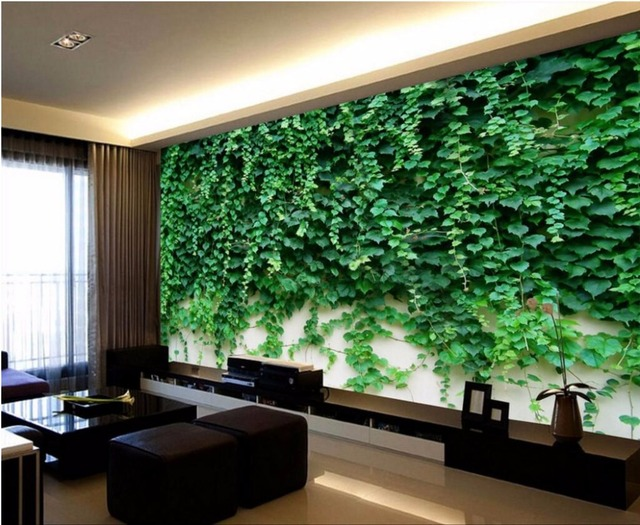 Custom Photo Designs 3d Wall Murals Wallpaper Picture Roses Climbing Vine Landscape Decor Painting Wallpapers For