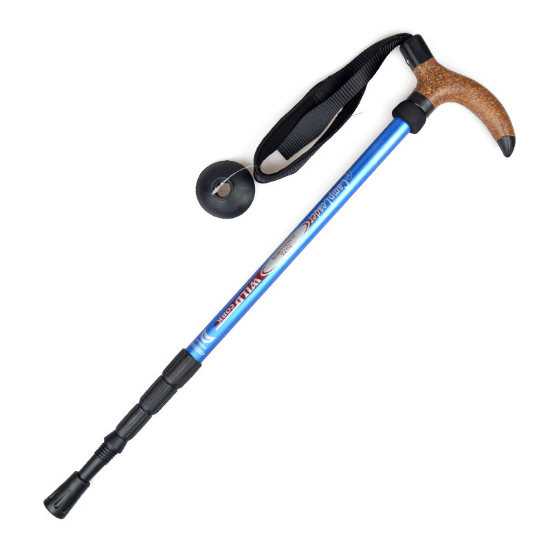 Image 4 - VILEAD Stable 50 110cm Cork Walking Sticks 7075 Aluminum Nordic Portable Ultra light Outdoor Travel Hiking Trekking Poles Cane-in Walking Sticks from Sports & Entertainment