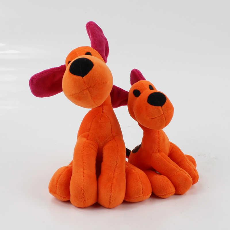 14-27 cm PÁSSARO SONOLENTO dos desenhos animados POCOYO Elly pato LOULA boneca de brinquedo de pelúcia POCOYO LOULA Nina cão grande e pequeno 2 tamanho macio stuffed boneca