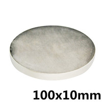 100x10 mm N35 Powerful Super Strong Magnet Round Rare Earth Permanent Neo Neodymium Magnet100mm