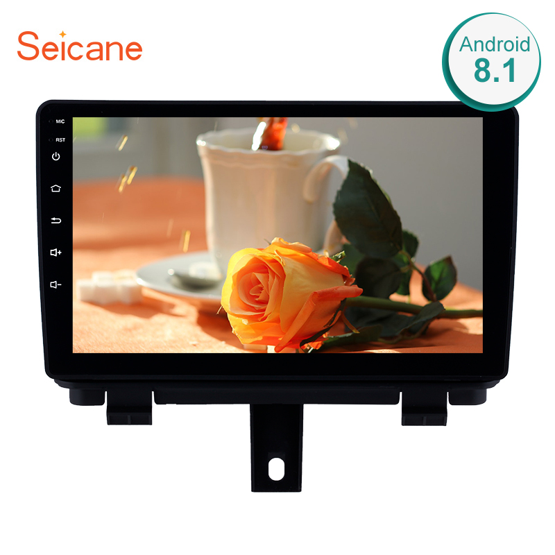 Seicane 9Inch 2Din Android 8.1 Car Radio For 2013 2014-2017 AUDI Q3 GPS Navigation Bluetooth Audio Multimedia Player Head Unit