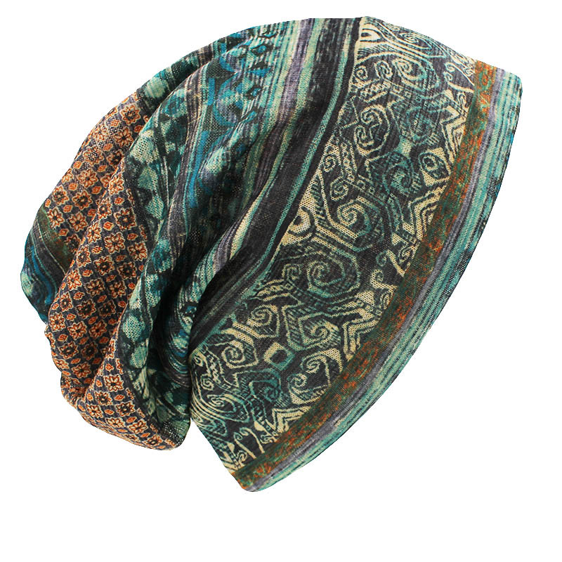 CAPSHOP Brand Autumn And Winter Dual-use  Vintage Design Hats For Ladies thin Skullies And Beanies Women Scarf Face Mask HT015 6
