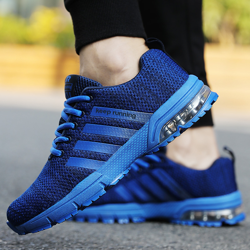 BLOOMNEXT Brand Fashion Men Shoes 2018 Autumn Spring Mesh Cushion Non-slip Comfortable Couple Casual Shoes Lace Up Sneakers Male все цены