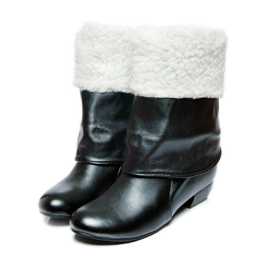 KARINLUNA büyük boy 34-43 Dropship çizmeler kadın ayakkabıları kadın binici çizmeleri moda sıcak peluş kış diz yüksek çizmeler kadın ayakkabı
