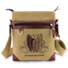 Anime Attack On Titan Shoulder Canvas Bag