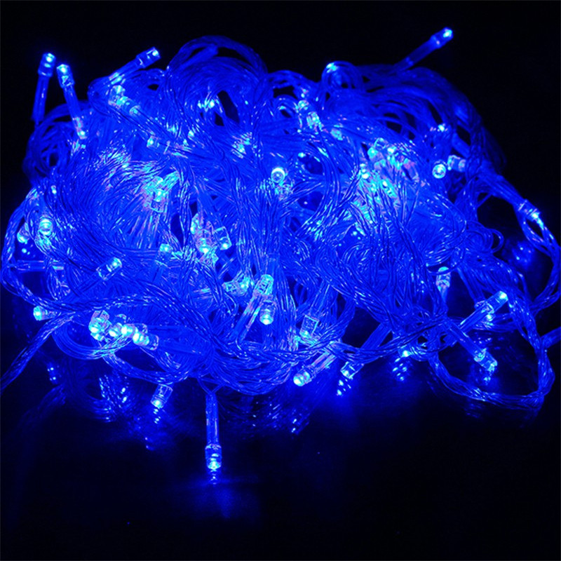 100m Outdoor Waterproof Led String Lights Christmas Fairy Fantasy Garden Wedding Party Decoration Restaurant Decor lamp colorful