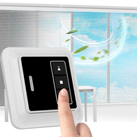Anysane Wireless Remote Control Blinds Transmitter RF 433Mhz Wall Mounting 1CH Emitter Shutter Controle Remoto Da